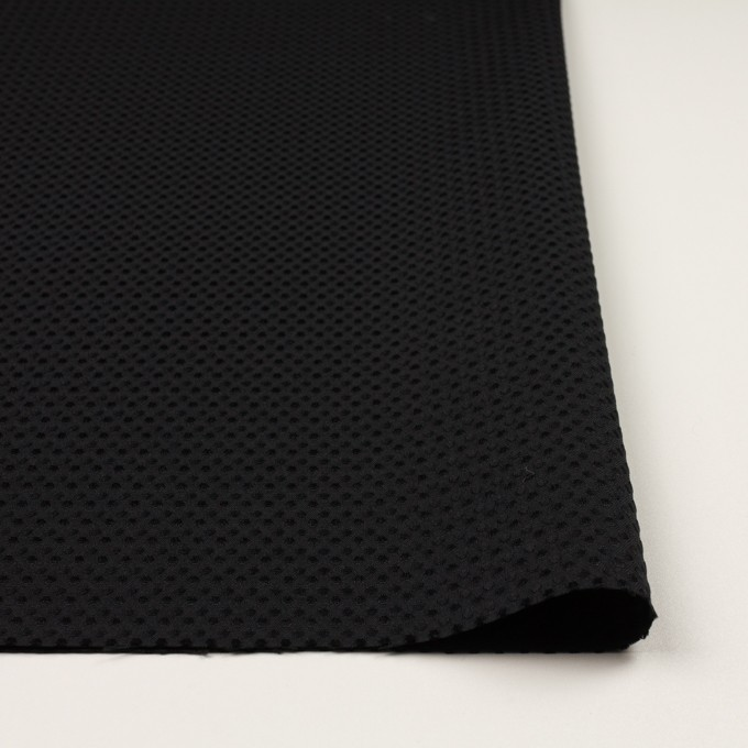ポリエステル×ドット(ブラック)×ジャガード イメージ3