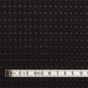 ポリエステル×ドット(ブラック)×ジャガード サムネイル4
