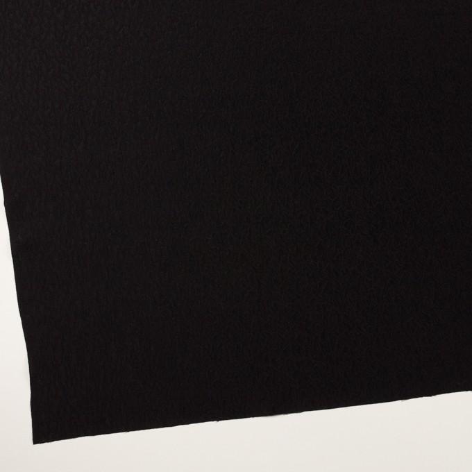 シルク×幾何学模様(ブラック)×フクレジャガード イメージ2