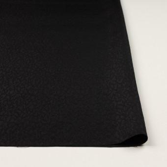 シルク×幾何学模様(ブラック)×フクレジャガード サムネイル3
