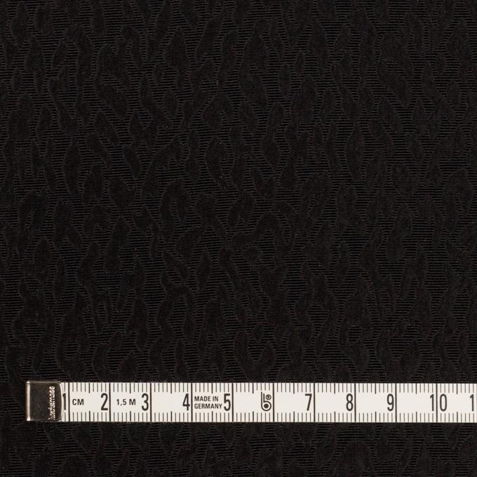 シルク×幾何学模様(ブラック)×フクレジャガード イメージ4