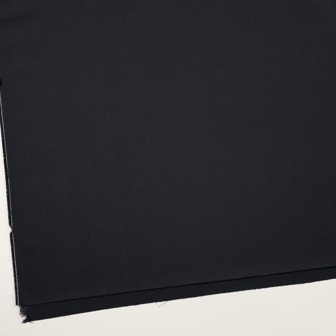 コットン&シルク×無地(ダークネイビー)×二重織 イメージ2