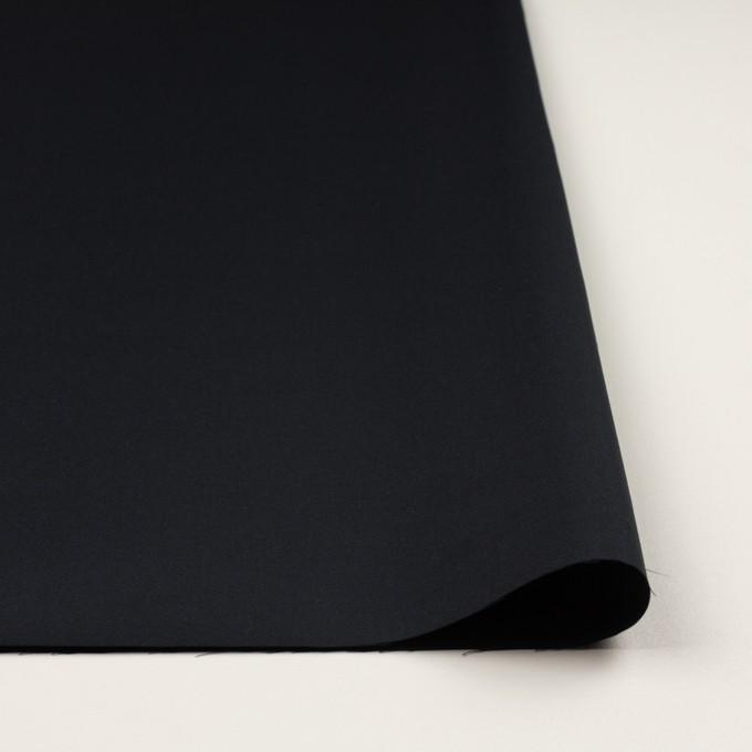 コットン&シルク×無地(ダークネイビー)×二重織 イメージ3