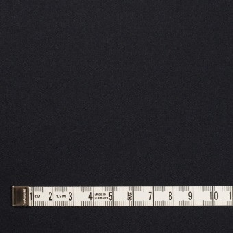 コットン&シルク×無地(ダークネイビー)×二重織 サムネイル4