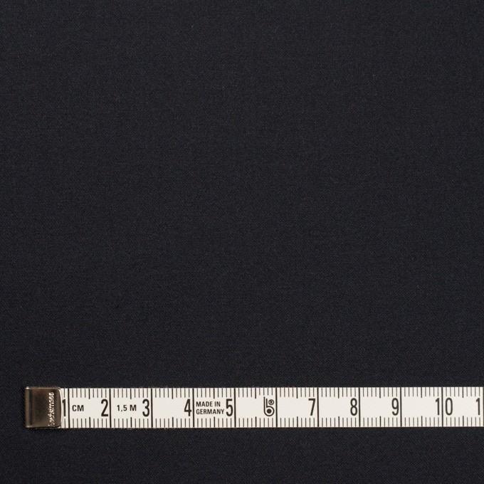 コットン&シルク×無地(ダークネイビー)×二重織 イメージ4