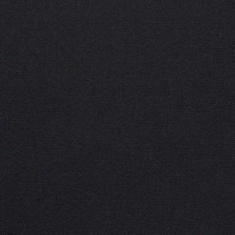 コットン&シルク×無地(ダークネイビー)×二重織