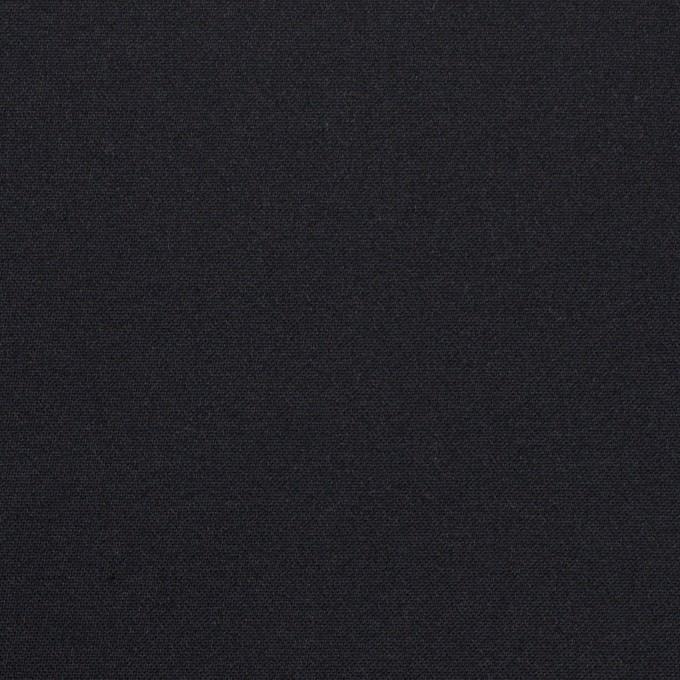 コットン&シルク×無地(ダークネイビー)×二重織 イメージ1