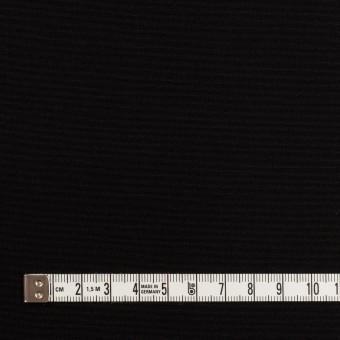 コットン&シルク×無地(ブラック)×グログラン サムネイル4
