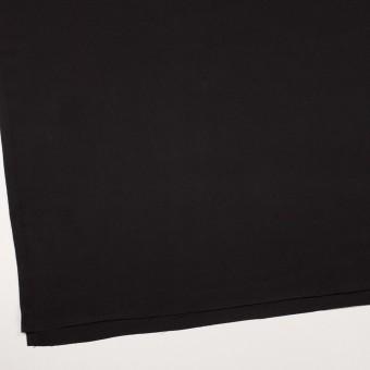 キュプラ&シルク×無地(ブラック)×二重織 サムネイル2