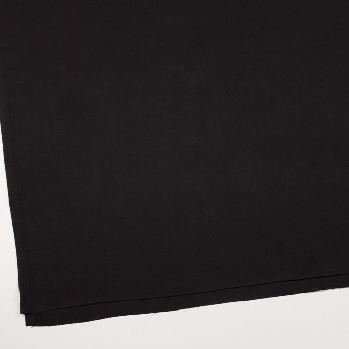 キュプラ&シルク×無地(ブラック)×二重織 イメージ2
