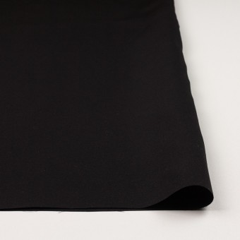 キュプラ&シルク×無地(ブラック)×二重織 サムネイル3