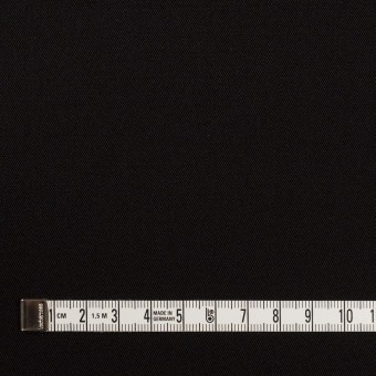 キュプラ&シルク×無地(ブラック)×二重織 サムネイル4