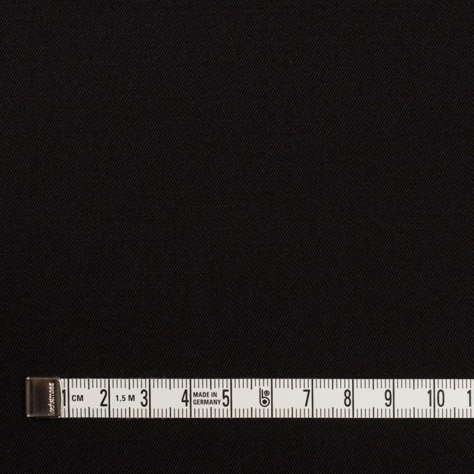 キュプラ&シルク×無地(ブラック)×二重織 イメージ4