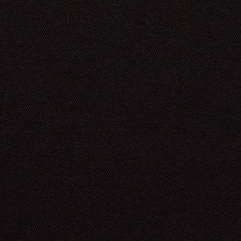 キュプラ&シルク×無地(ブラック)×二重織