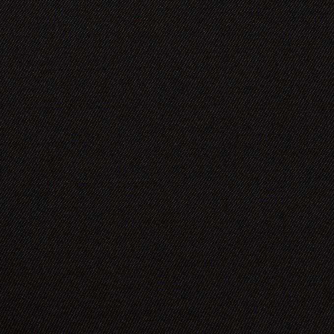 キュプラ&シルク×無地(ブラック)×二重織 イメージ1