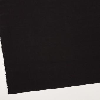 コットン&シルク混×無地(ブラック)×ローン サムネイル2