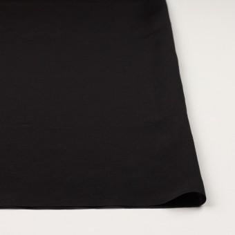 コットン&シルク混×無地(ブラック)×ローン サムネイル3