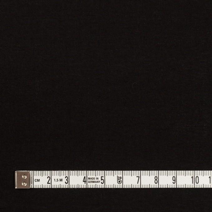 コットン&シルク混×無地(ブラック)×ローン イメージ4