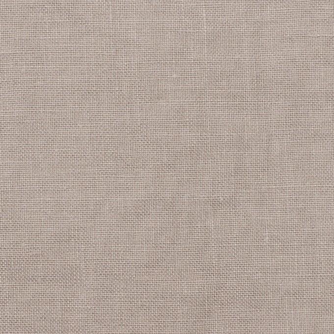 リネン×無地(ストーングレー)×薄キャンバス_全30色 イメージ1