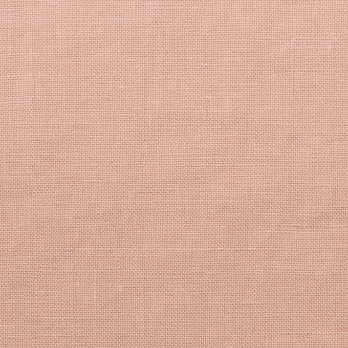リネン×無地(ピンクベージュ)×薄キャンバス_全30色 イメージ1