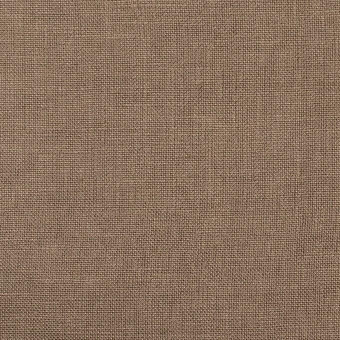 リネン×無地(モカブラウン)×薄キャンバス_全30色 イメージ1