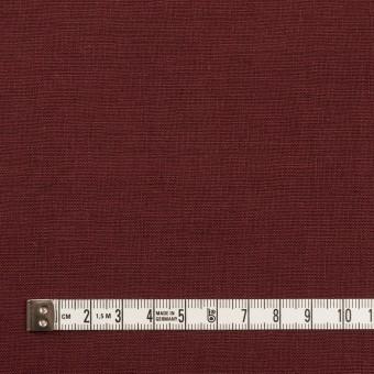 リネン×無地(クランベリー)×薄キャンバス_全30色 サムネイル4