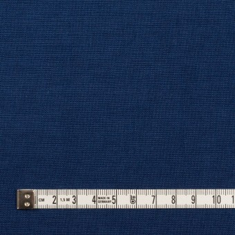 リネン×無地(プルシアンブルー)×薄キャンバス_全30色 サムネイル4
