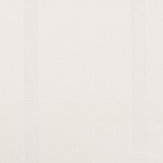 コットン×チェック(ミルク)×ボイルジャガード イメージ1