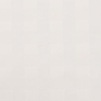 コットン×チェック(オフホワイト)×ローンジャガード