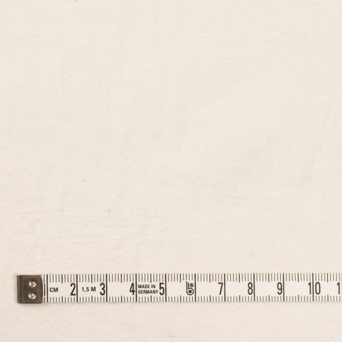 コットン×リーフ(バニラ)×シーチング・ジャガード イメージ4