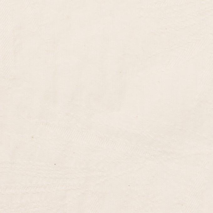 コットン×リーフ(バニラ)×シーチング・ジャガード イメージ1
