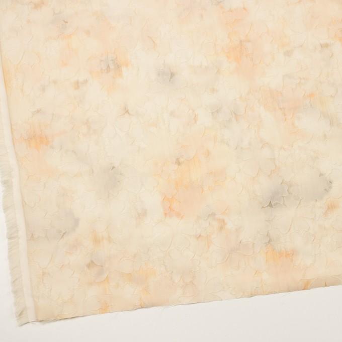 ポリエステル×フラワー(カスタード)×二重織ジャガード イメージ2