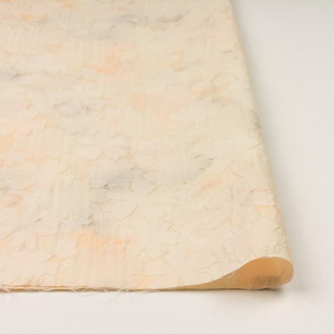ポリエステル×フラワー(カスタード)×二重織ジャガード イメージ3
