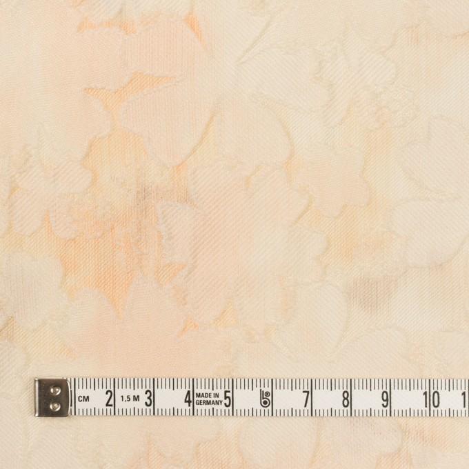 ポリエステル×フラワー(カスタード)×二重織ジャガード イメージ4