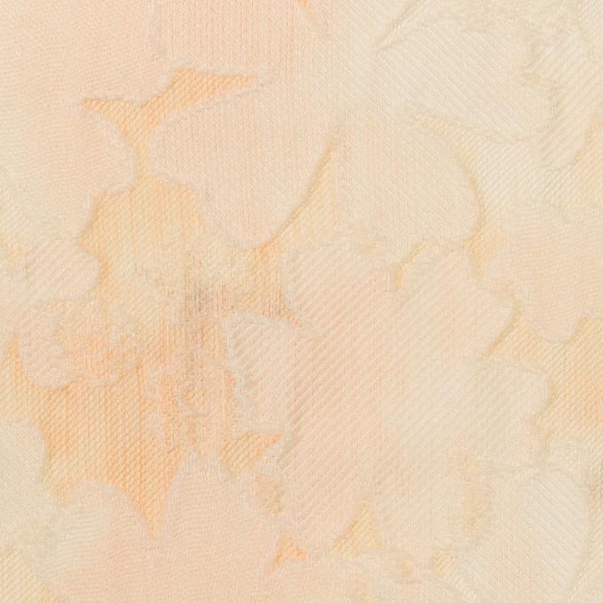 ポリエステル×フラワー(カスタード)×二重織ジャガード イメージ1