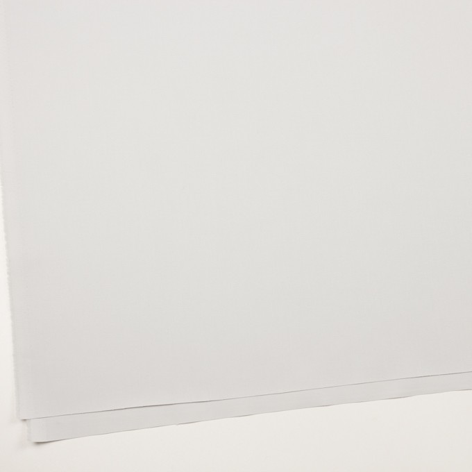 コットン×無地(シルバーホワイト)×サージ_全2色 イメージ2