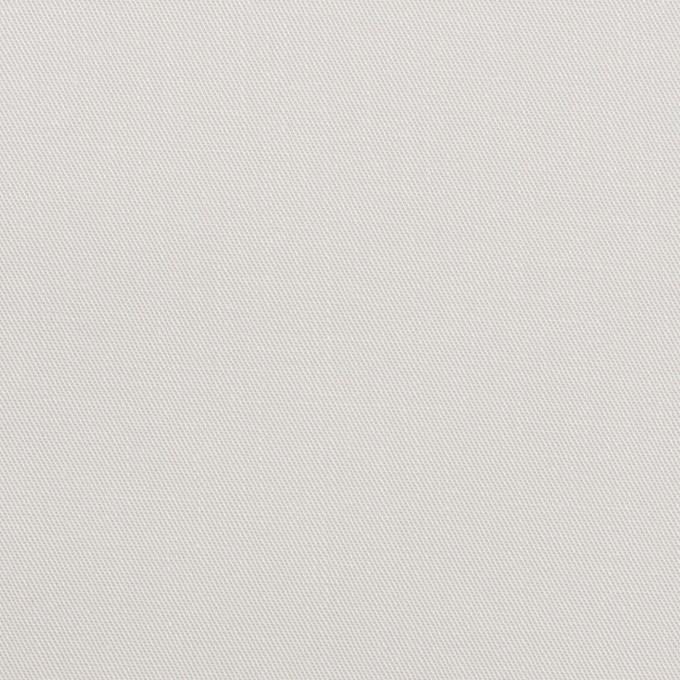 コットン×無地(シルバーホワイト)×サージ_全2色 イメージ1