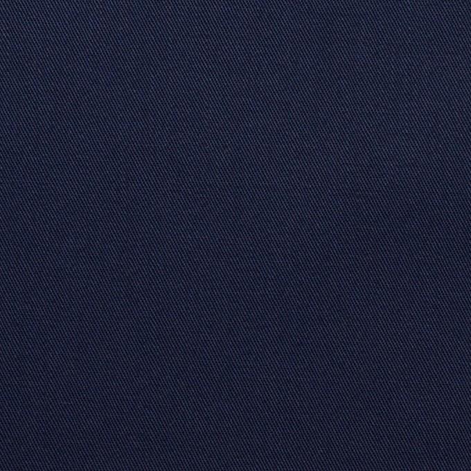 コットン×無地(ネイビー)×サージ_全2色 イメージ1