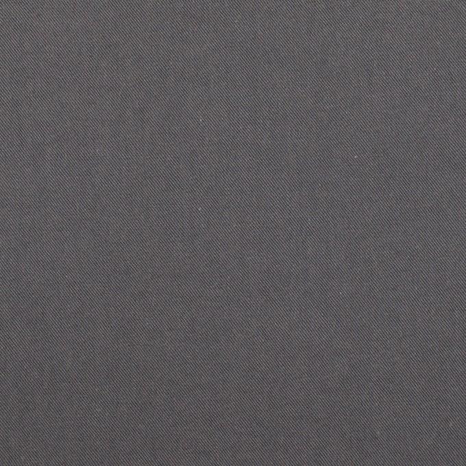 コットン×無地(スチールグレー)×サージワッシャー_全2色 イメージ1