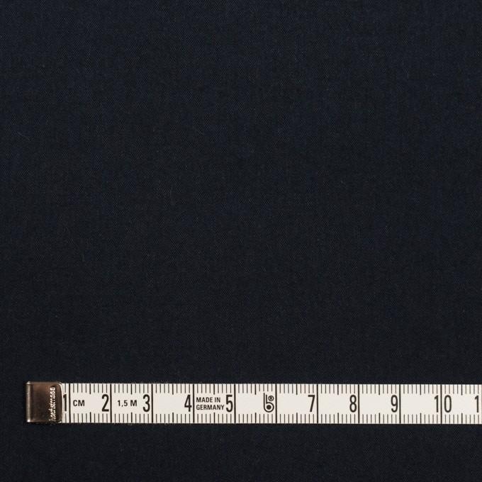 コットン×無地(ダークネイビー)×サージワッシャー_全2色 イメージ4