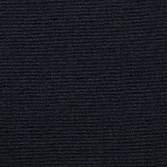 コットン×無地(ダークネイビー)×サージワッシャー_全2色 イメージ1