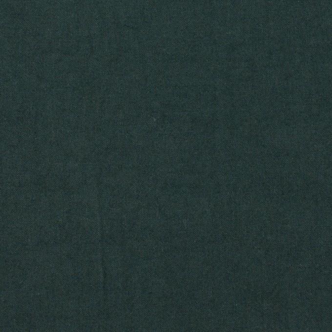 コットン×無地(ダークモスグリーン)×高密ブロードワッシャー_全2色 イメージ1