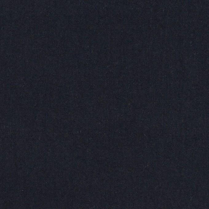 コットン×無地(ダークネイビー)×高密ブロードワッシャー_全2色 イメージ1