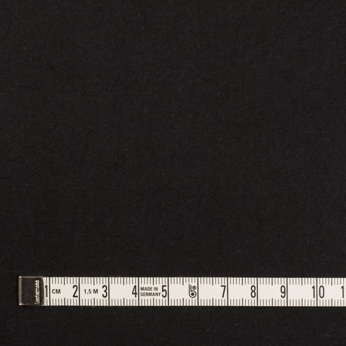 コットン×無地(ブラック)×高密ブロードワッシャー_全2色 イメージ4
