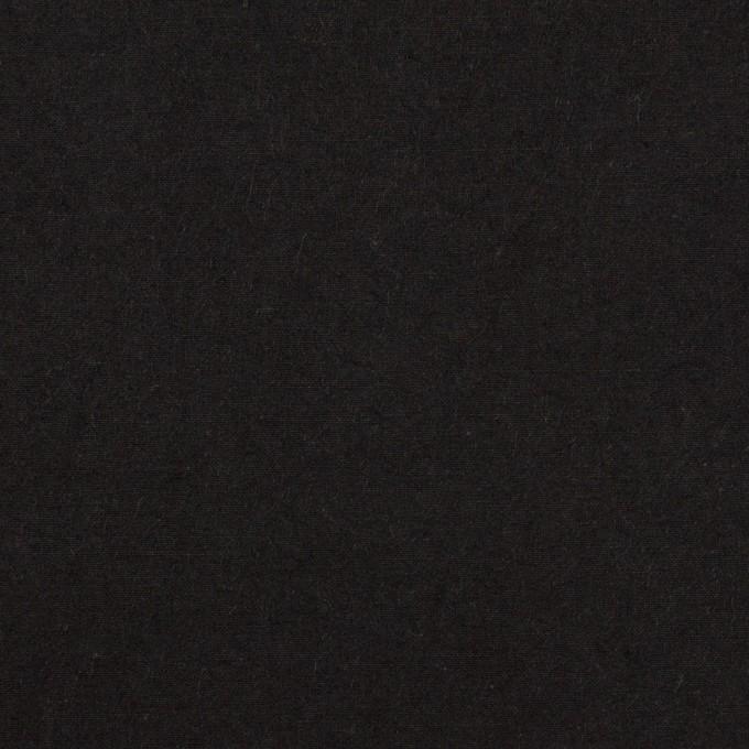 コットン×無地(ブラック)×高密ブロードワッシャー_全2色 イメージ1