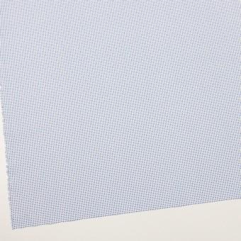 コットン×ドット(ホワイト&ブルー)×ブロード_全2色 サムネイル2