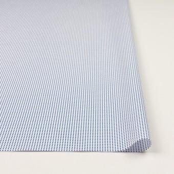 コットン×ドット(ホワイト&ブルー)×ブロード_全2色 サムネイル3