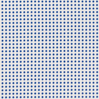 コットン×ドット(ホワイト&ブルー)×ブロード_全2色
