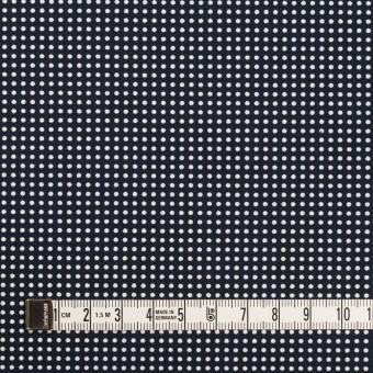 コットン×ドット(ダークネイビー&ホワイト)×ブロード_全2色 サムネイル4