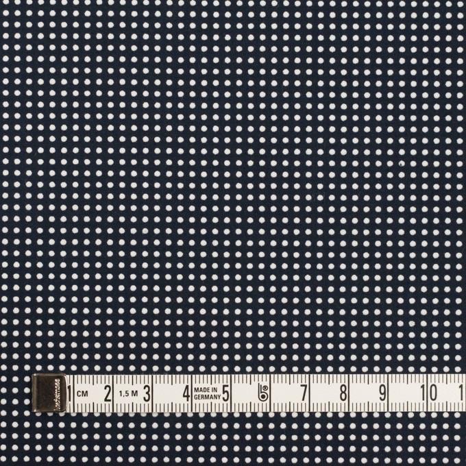 コットン×ドット(ダークネイビー&ホワイト)×ブロード_全2色 イメージ4